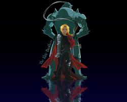 The Elric Brothers by RapidRage