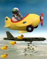 DuckyBomber by WaltervanSanten