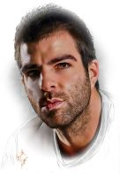 Zachary Quinto by kenernest63a