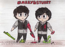 Barry and Stuart by BeckyBumble