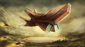Speed painting - Ship by dges