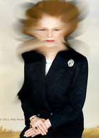Margaret Thatcher a 100 Km all'ora by jimiparadise