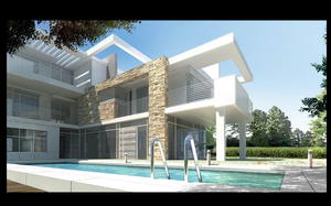 beach villa 2 by AgamiDesigner