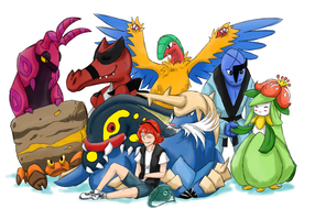 Pokemon Black Team by Fox7XD