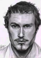 Heath Ledger for LadyMortiana by Lady-CaT