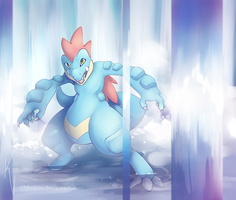 Feraligatr by Opheleus