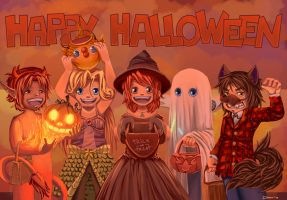 Happy Halloween by 2Dea