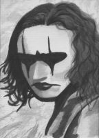 Brandon Lee- The Crow by ElectricDinoSaur