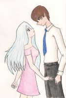 Seto and Kisara. by spiffychalk