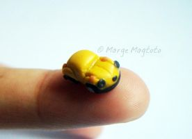 Micromini Yellow Volkswagen by margemagtoto