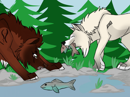 .: Fishing Attempt 2 :. by Dunkin-Prime