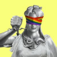 Lady Rainbow Justice by zsabreuser