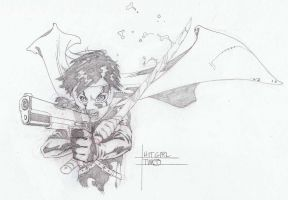 HIT GIRL by timothygreenII