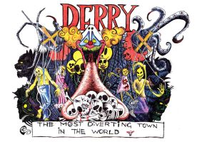 Stephen King's Derry by SergiyKrykun