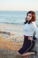 Elizabeth Bioshock: Infinite Burial at sea by Alinechan