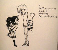 THEOnly - Gift Exchange with words by MelodicInterval