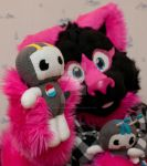 A state of Pinky by FurryFursuitMaker