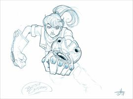 Battle Chasers - Gully by WillyRead
