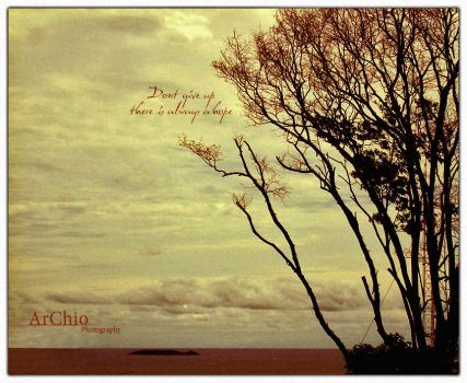 : Dont give up : by ArChio