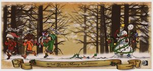 another christmas card by Darmila
