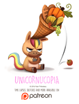 Day 1415. Unicornucopia by Cryptid-Creations
