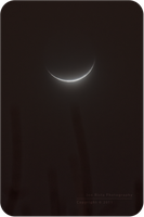 Crescent Moonglow by jon-rista