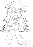 Chibi Grell by RaeOverTheRainbow