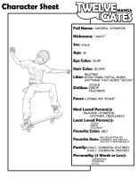 TG Character Sheet - Andy by redcarstudios