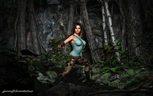 Lara V6: Danger in the forest by JpauCroft