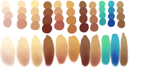 Skin Tones by Kreative-Confusion