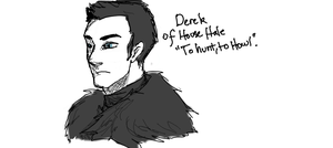 Derek of House Hale by lunecramoisie
