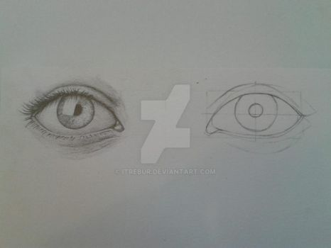How i draw eyes by Itrebur