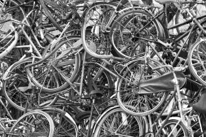 The Bicycle Graveyard by Ymntle-Aleoni