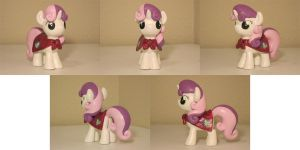 Sweetie Belle CMC Custom Sculpt Commission 2 by Blackout-Comix