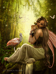Woodland Fae by EnchantedWhispersArt