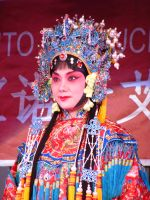 Beijing Opera performer 3 by stockdeana