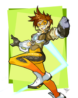 Overwatch Tracer by Miledblur