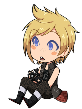 [ FFXV ] Prompto Argentum by cupiovulpes