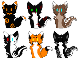 Chibi Adoptables -CLOSED- by AdoptableShelter