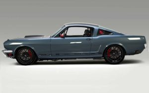 66 Mustang Race Car by lovelife81