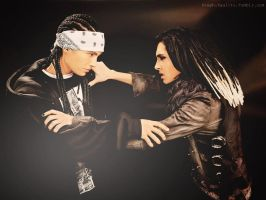 Kaulitz Twins by StephiKaulitz