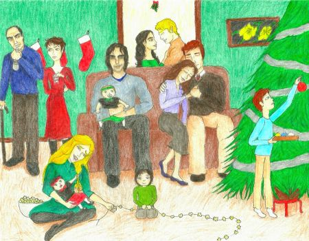 Merry Christmas from Panem by Maiasm