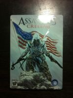 Assassin's Creed III- Hardcase Cover by XPvtCabooseX