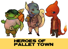 HEROES OF PALLET TOWN by Go-Outside
