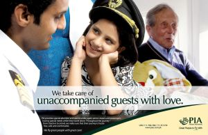 PIA Kids Flight ad by creavity