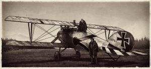 Albatros D.V. by RyanLovelock
