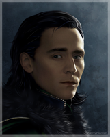 Just another Loki portrait... by eleathyra