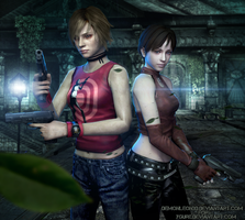 #Girls - Survival Horror by DemonLeon3D