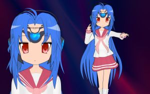 KOS-MOS Lucky Star Style by Primantis