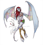 Gargoyle Sally by Ellis1342